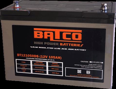 Cheap Batteries - AGM Battery BT121050/BT12120